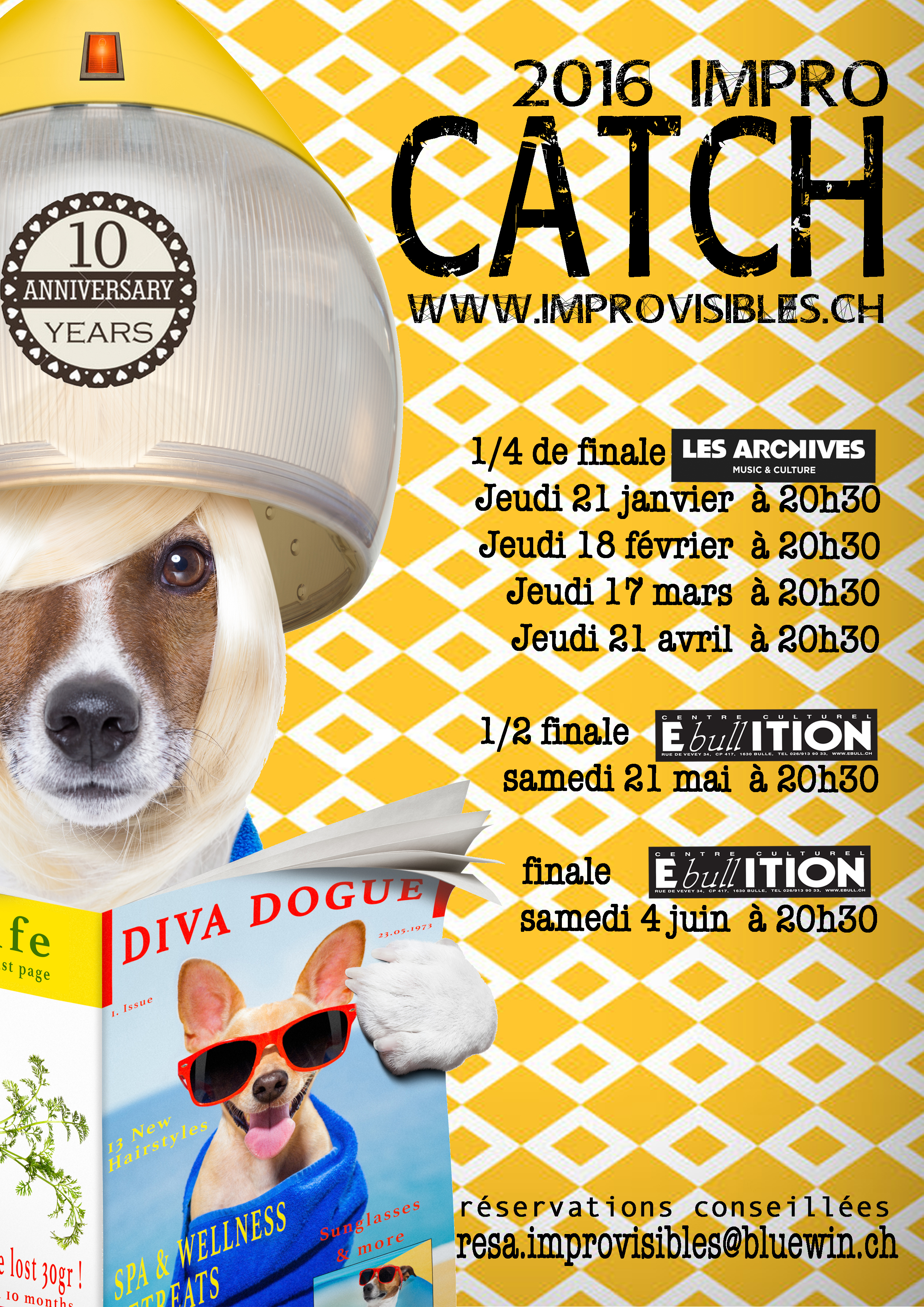 Tournoi Catch-Impro – 1/2 finale