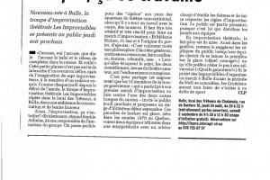 Articles de presse 2006 et 2007