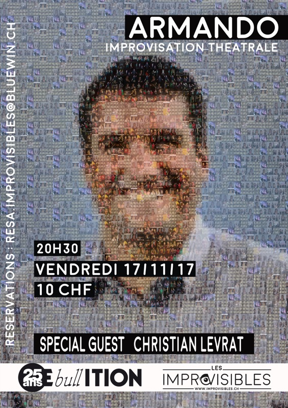 ARMANDO Spécial Guest: 17.11.17