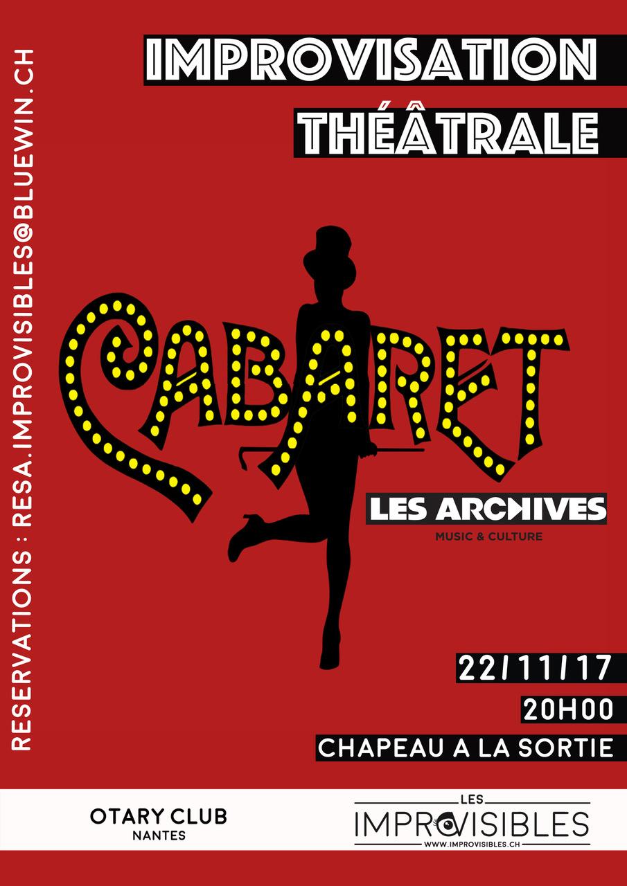 Cabaret Impro: 22.11.17