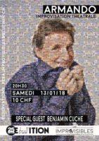 ARMANDO Spécial Guest: 13.01.18