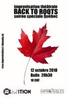 Soirée Spéciale Québec – 12.10.2018