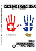 Match Suisse vs Québec – 18.05.2019