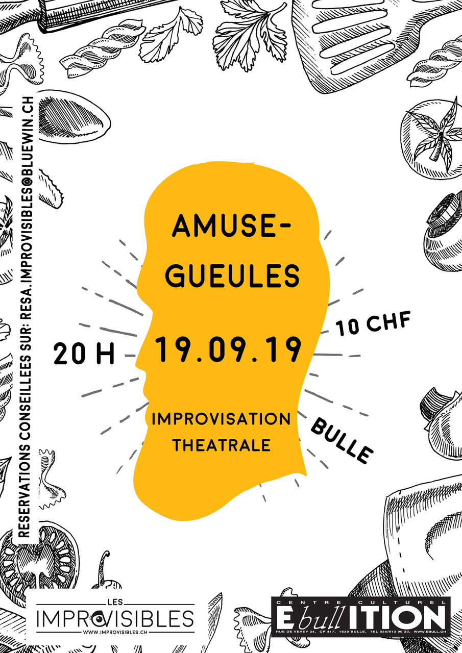 Amuse-Gueules – 19.09.19